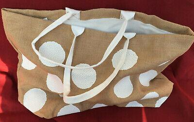 IKEA Tänkvärd,Naturfasertasche Taschen Tasche Natur//Weiß Limited Edition Shopper