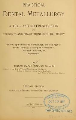 103 Classic Books on Dentistry, Dental Dentist Teeth History DVD I02 7