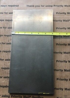 """1/2 X 6 Flat Steel Bar 1018 Machining Cold Rolled 0.500 Smooth Finish 12"""" L 7"""