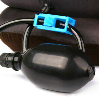 US Air Inflatable Neck Pillow Cervical Head Traction pain Relief Therapy Device 4