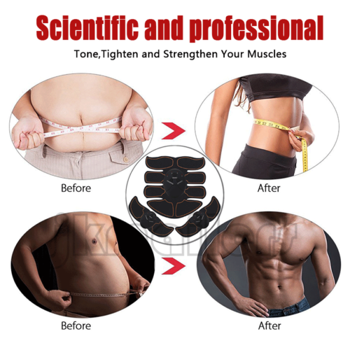 Ultimate EMS AB & Arms Muscle Simulator ABS Training Home  Abdominal Trainer Set 4