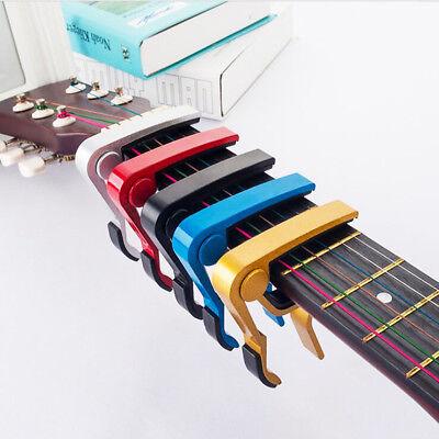 Guitar Capo Acoustic Clip Guitar String Instrument Clamp Fret  Electric 2