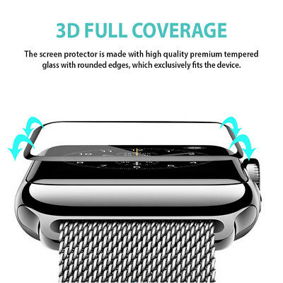 Apple Watch 1 Apple Watch 2 3 4 38/40/42/44mm Tempered Glass Screen Protector 4