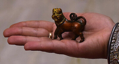 Antique-Solid-Brass Lion Shape-Handle-Door-Knob Brass Bm-219 3