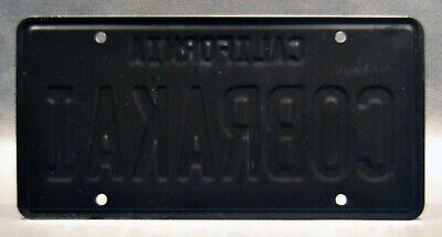 Cobra Kai   Johnny's Dodge Challenger   Metal Stamped Replica Prop License Plate 2