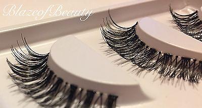 False Eyelashes Demi Wispies Set Natural Wispy MakeUp Long Eye Lashes Dupes UK