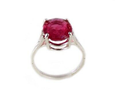 Red Sapphire Ring 5¼ct Antique 19thC Medieval Sorcery Psychic Anti-Black Magic 9