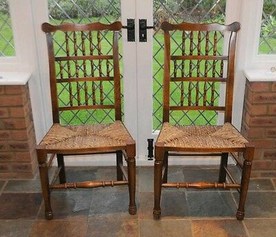 Set 6 Spindleback Kitchen Dining Chairs Spindle 8