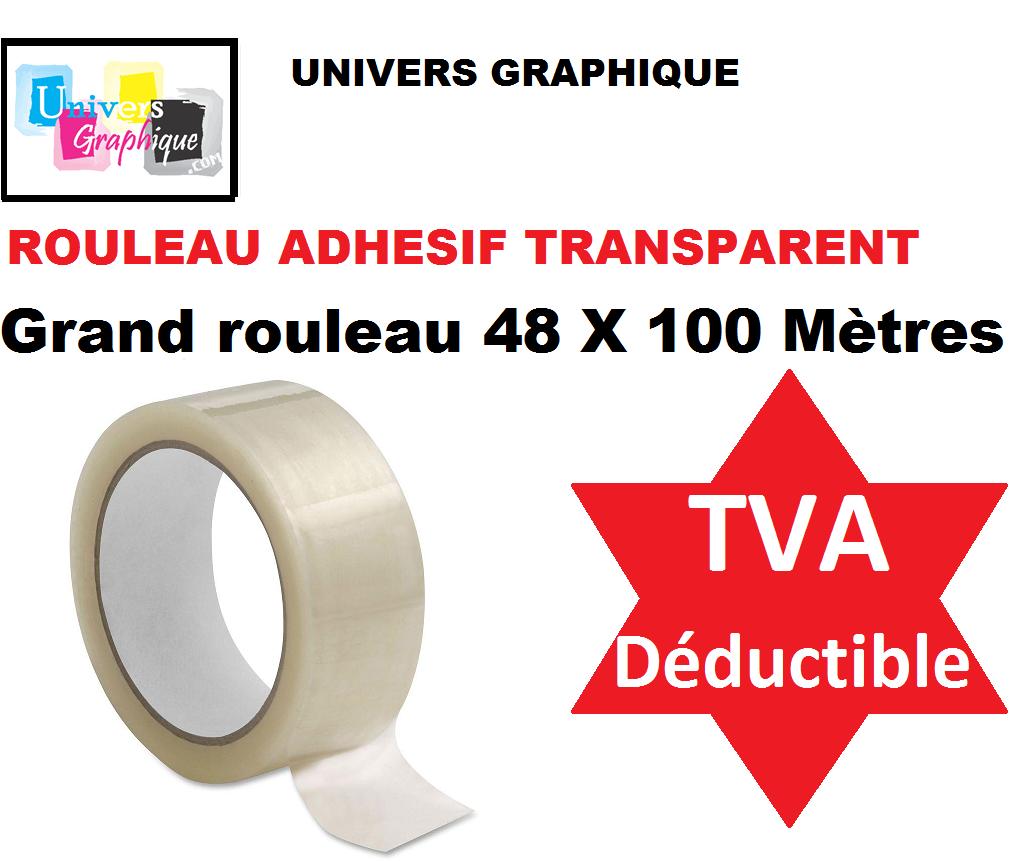 1 à 72 Rouleau, Ruban  ADHÉSIF EMBALLAGE marron havane; transparent ou blanc 3