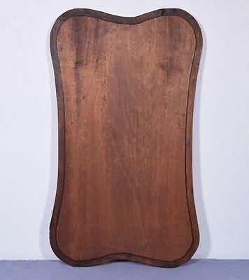 *Large French Deeply Carved Architectural Panel Solid Mahogany Romantic Theme 7