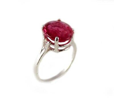 Red Sapphire Ring 5¼ct Antique 19thC Medieval Sorcery Psychic Anti-Black Magic 8