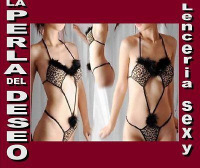 0dd0a916da0e ★ SEXY BODY Leopardo Erótico Y Sensual -S- (Bo19) - Lenceria La Perla Del  Deseo