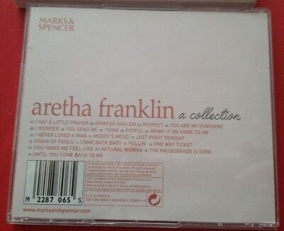 The Late Great Queen of Soul 👑 Aretha Franklin: A Collection VERY RARE VG CD 🎵 3