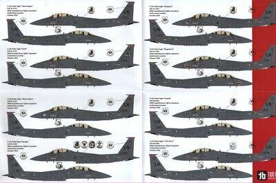 Nouveau Two Bobs decals 48265 1:48 McDonnell F-15E Eagle maximale Effort Eagles