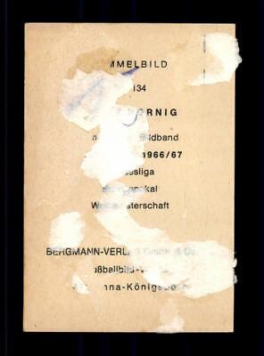 Heinz Hornig 1 fc colonia Bergmann Aral 1966 sammelbild