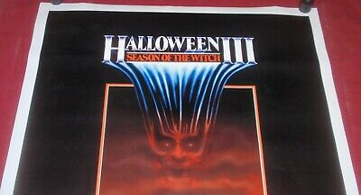 Halloween III: Season of the Witch 1982 27 x 41 Orig Movie Poster Tom Atkins NEW 2