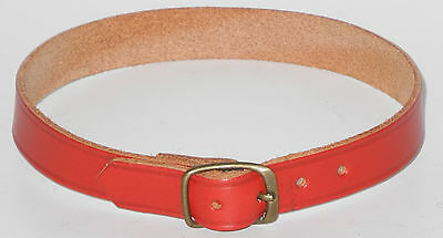 Original Steiff Zubehör rotes Halsband  37cm lang