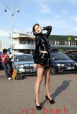 Sexy Scarpe Decolte Nero/Rosso doppio Plateau Tacco 15  n. 38 Fashion GLAMOUR ! 7