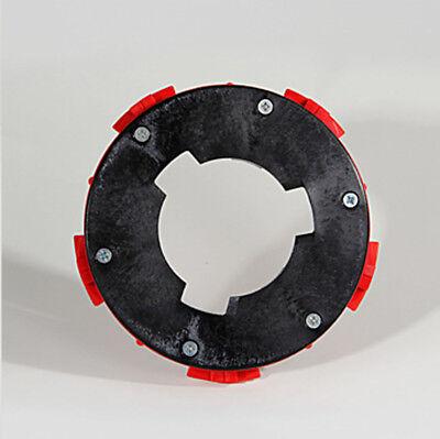 """VIPER Rotary Floor Polishing Cleaning Machine 17"""" Medium to Stiff Brush & Clutch 3"""