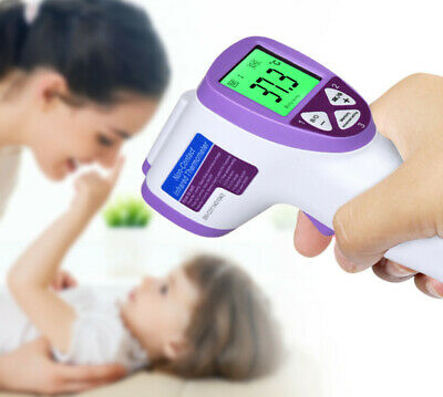 IR Infrared Digital Termometer Non-Contact Forehead Baby/Adult Body Thermometer 10