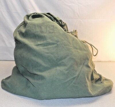 Us Army Barracks Bag 100 Cotton Large Laundry Military Issue Drawstring