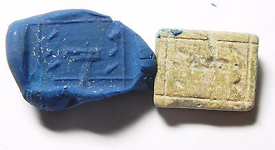 Zurqieh -Af646- Ancient Jordan. Iron Age Stone Plaque. 600 B.c 2