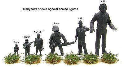 x117 sheet Self adhesive static grass tufts - Model scenery flock wargames 3