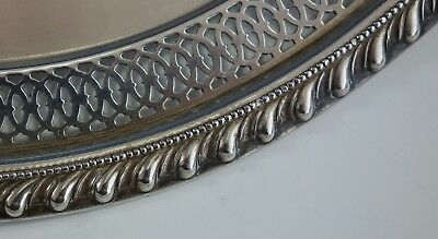 English Gadroon by Gorham Sterling Silver Serving Plate Pierced Edge (#2542) 5