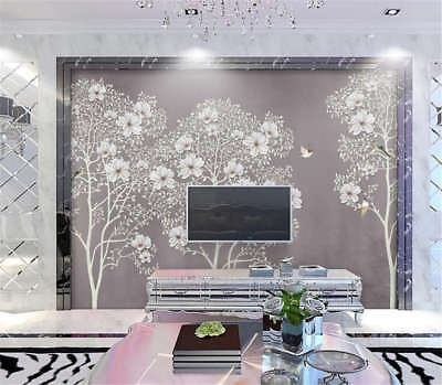 Simple Coherent Rose 3D Full Wall Mural Photo Wallpaper Printing Home Kids Decor