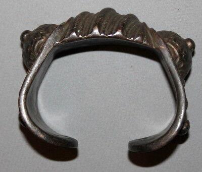Antique Greek Medieval Bronze Fertility Folk Art Hand Made Bracelet 2