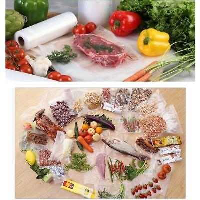 6/10 X Vacuum Food Sealer Seal Bags 6M Rolls Saver Storage Commercial 20 22 28cm 6