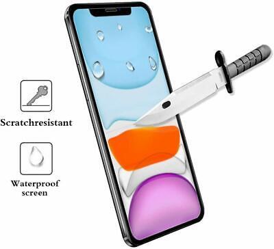 vitre verre trempe film de protection iPhone 11/11 Pro Max/XS/XR/X 8 7 6 LOT/5 2