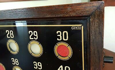 Victorian English Gents of Leicester Antique Early Electrical Hotel Butler Box 8