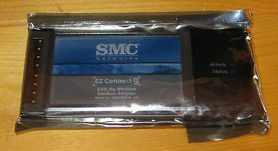 **NEW**  PCMCIA PC Card Wireless Wi-Fi 802.11G SMC Card 98SE,2000,XP
