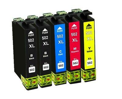 5x Tinte für Epson Expression Home WF-2860 DWF WF-2865 XP-5100 XP-5105 XP-5115 2