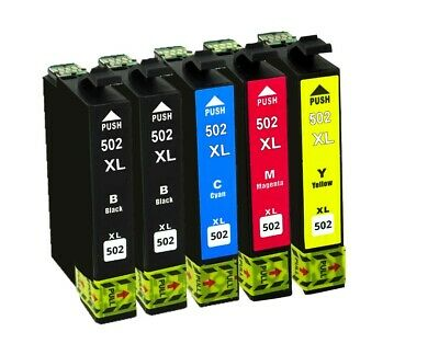 5x ink cartridge für Epson Expression Home XP5100 XP5105 WF2860DWF WF2865DWF 2