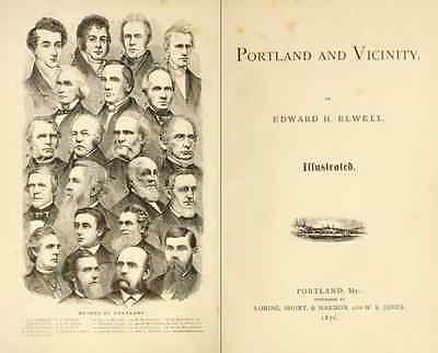 MAINE History & Genealogy - 220  Books on FLASH DRIVE, Ancestors, County, ME 4