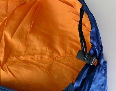 Saco De Dormir Repsol Cremallera Derecha Azul Y Naranja Nuevo 3