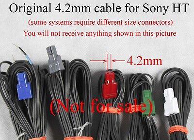 6 4.2MM PITCH SPEAKER connectorsplugs made for select Sony