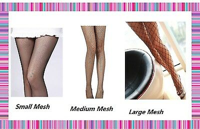 Lady Women's Mesh Net Fishnet Stockings Jacquard Pantyhose Waist High Tights New 2