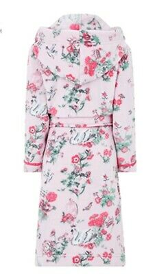 Monsoon Avery Girls Pink Chunky Robe Dressing Gown Aged 12-13 Years Bnwt 152-158 2