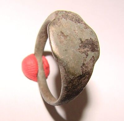 Ancient bronze ring  Middle Ages original 2