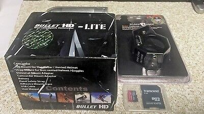 HD Fire Fighter Camera Video Cam BULLETHD LITE Waterproof+BlackJack Clip 16GB SD