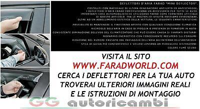 Coppia Deflettori Deflettore Aria Antivento Farad Citroen C4 Picasso 5p 2013/>