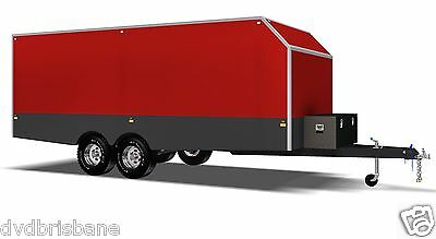 Trailer Plans - 6m ENCLOSED & 4m ENCLOSED MOTORBIKE TRAILER PLANS - on CD-ROM 5