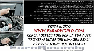 "ANTITURBO ANTIVENTO 12460 DEFLETTORI ARIA /""FARAD/"" ALFA ROMEO 159 /'05-/> BERLINA"