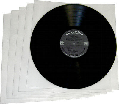 """(100) 12"""" Vinyl LP Record Inner Sleeves 3mil THICK - BEST PROTECTION ARCHIVAL 2"""