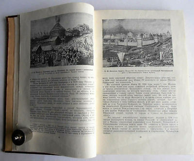 1950/54 P.SYTIN Russia MOSCOW History of Planning & Building Books 2 Volumes 6