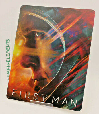 FIRST MAN (Ryan Gosling) - Lenticular 3D Flip Magnet Cover FOR bluray steelbook 2