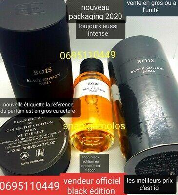Parfum Collection Privee N°1 Bois Senteur D'argent Black Edition N1 2